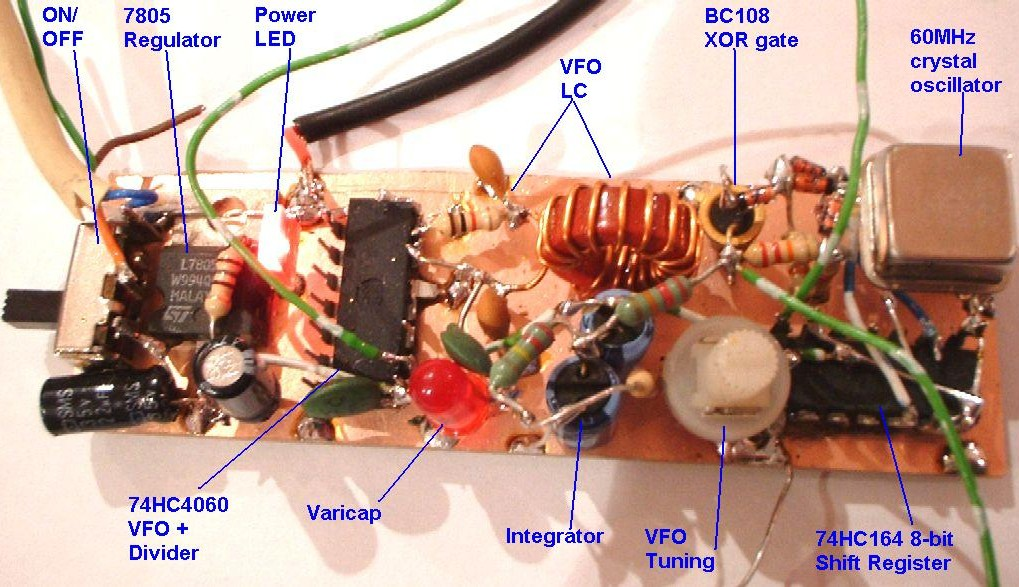 You are browsing images from the article: 2-chip VFO + 'Fast' stabiliser