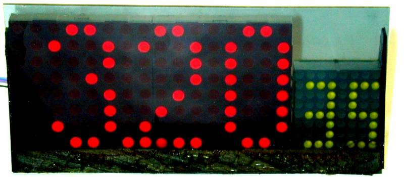 You are browsing images from the article: LED matrix clock