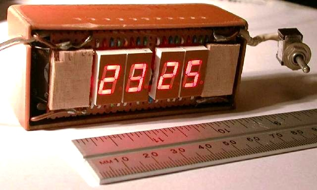 You are browsing images from the article: Panel-mounting clock