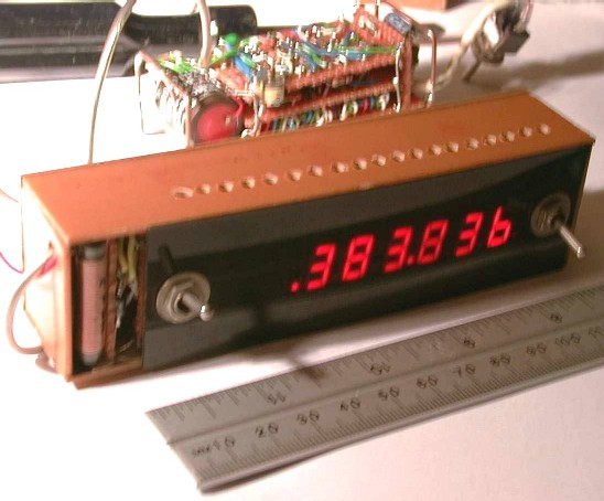 You are browsing images from the article: Radio Frequency counter