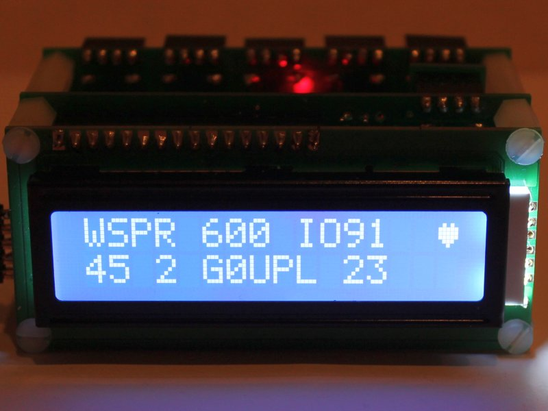 You are browsing images from the article: Ultimate3 QRSS/WSPR kit